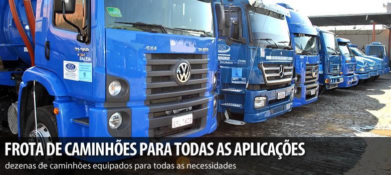 A SN Saneamento disponibiliza uma frota completa de Caminhões dos mais diversos modelos, preparados para...