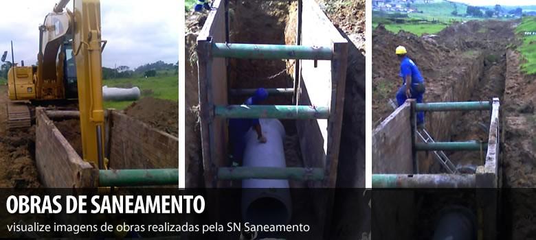 Conheça algumas obras de Saneamento realizadas pela SN Saneamento